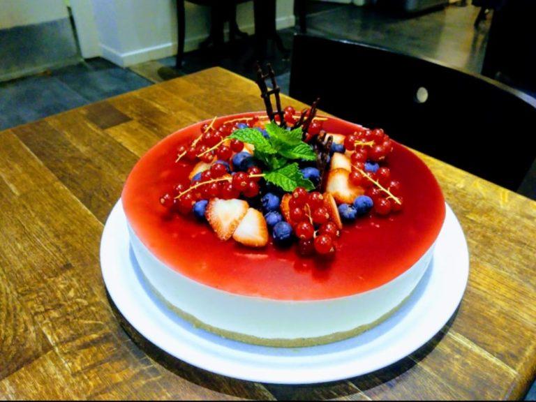 Cheesecake Sarrasin-fruits rouges